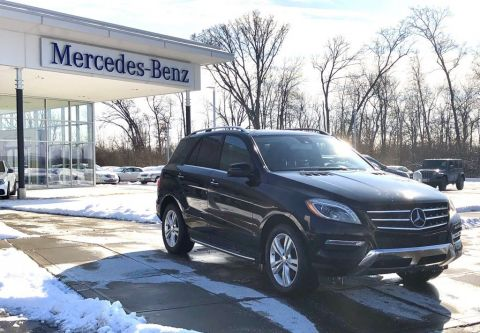 Certified Pre-Owned 2014 Mercedes-Benz M-Class ML 350 4MATIC® SUV AWD