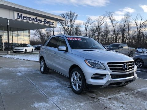 Certified Pre-Owned 2015 Mercedes-Benz M-Class ML 350 4MATIC® SUV AWD