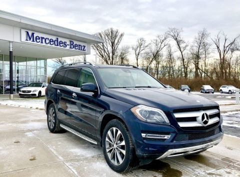 Certified Pre-Owned 2015 Mercedes-Benz GL-Class GL 350 BlueTEC