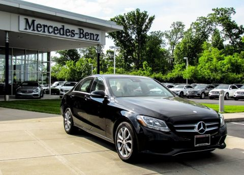 Certified Pre-Owned 2017 Mercedes-Benz C-Class C 300 AWD 4MATIC®