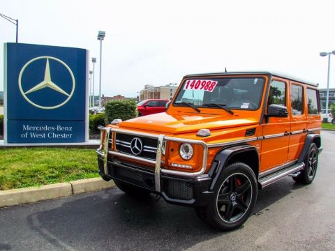 Certified Pre-Owned 2016 Mercedes-Benz G-Class G 63 AMG® SUV