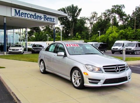 Certified Pre-Owned 2014 Mercedes-Benz C-Class C 300 Sport AWD 4MATIC®