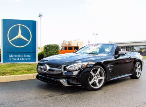 Certified Pre-Owned 2017 Mercedes-Benz SL 550