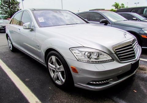 Certified Pre-Owned 2012 Mercedes-Benz S-Class S 550