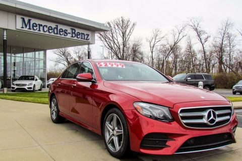 Certified Pre-Owned 2017 Mercedes-Benz E 300 4MATIC® Sedan AWD