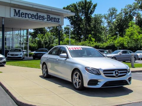 Certified Pre-Owned 2017 Mercedes-Benz E-Class E 300W4 AWD 4MATIC®