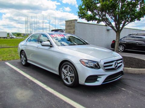 Certified Pre-Owned 2017 Mercedes-Benz E-Class E 300 4MATIC® Sedan AWD
