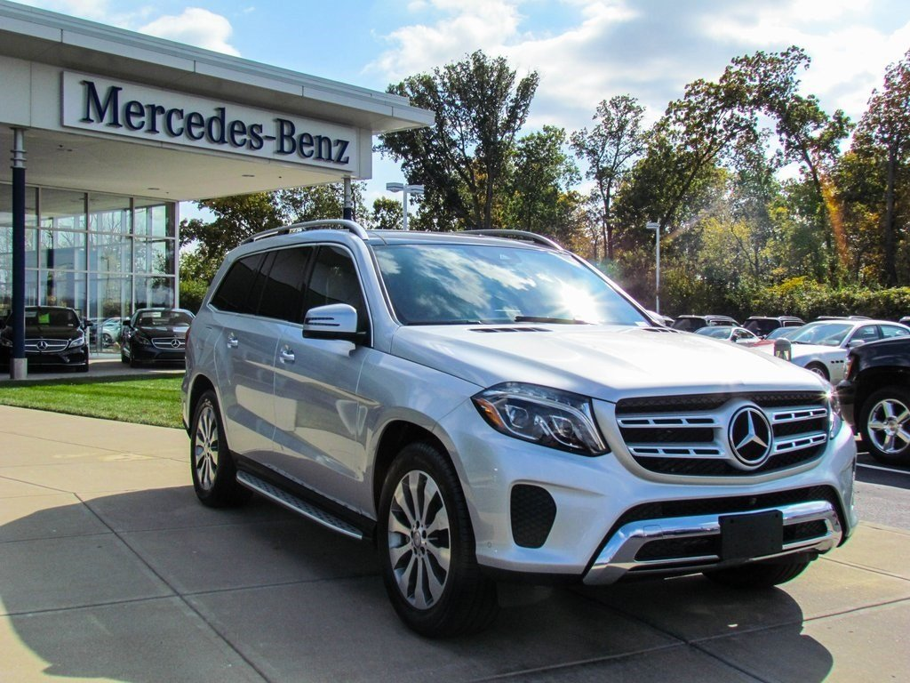 stock w16472 new 2017 mercedes benz gls gls450 4matic in west chester. Black Bedroom Furniture Sets. Home Design Ideas