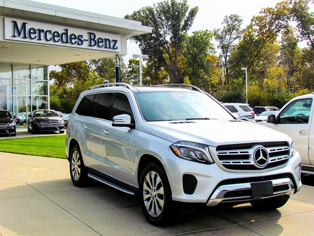Stock w16471 pre owned 2017 mercedes benz gls 450 4matic for Used mercedes benz gls450