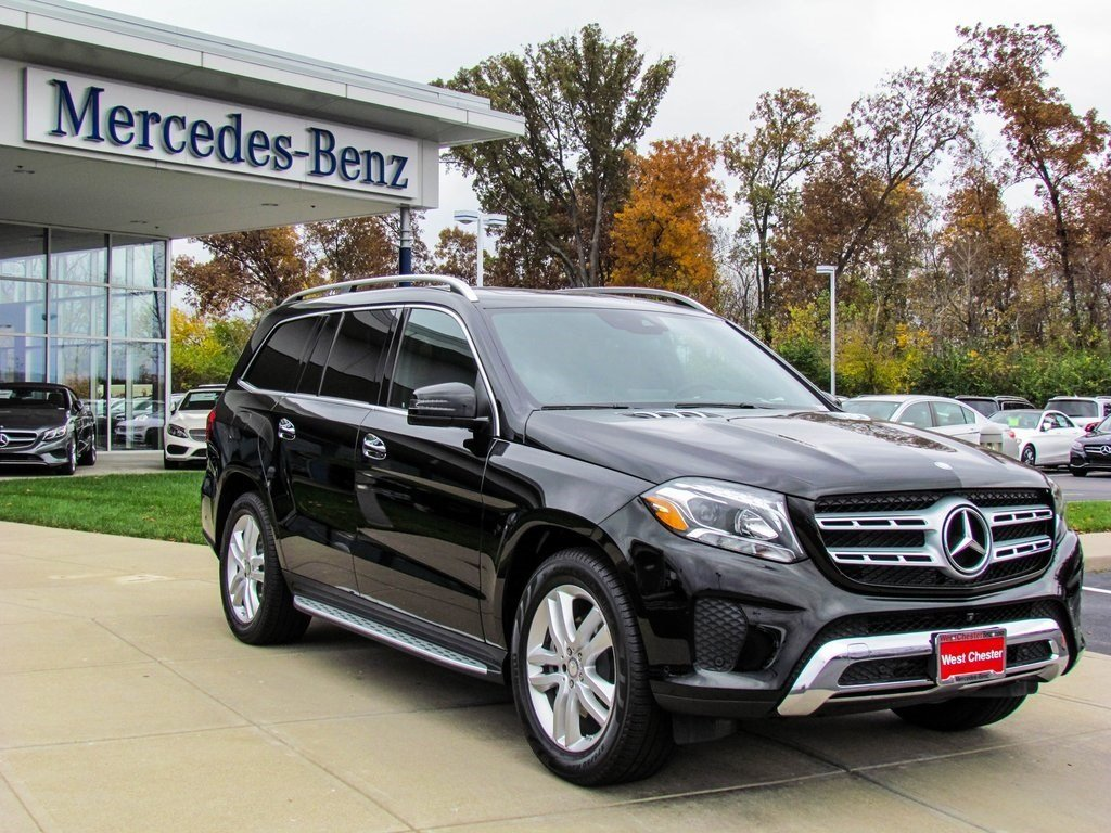 stock w16508 new 2017 mercedes benz gls gls450 4matic in west chester. Black Bedroom Furniture Sets. Home Design Ideas
