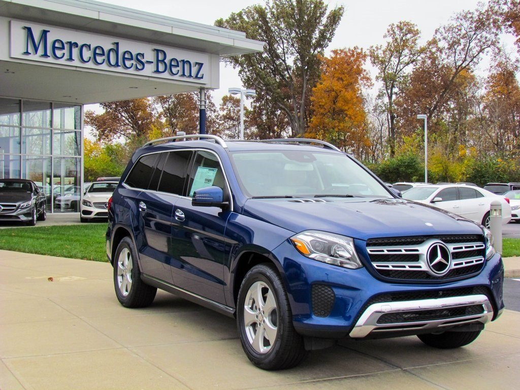 stock w16505 new 2017 mercedes benz gls gls450 4matic in west chester. Black Bedroom Furniture Sets. Home Design Ideas