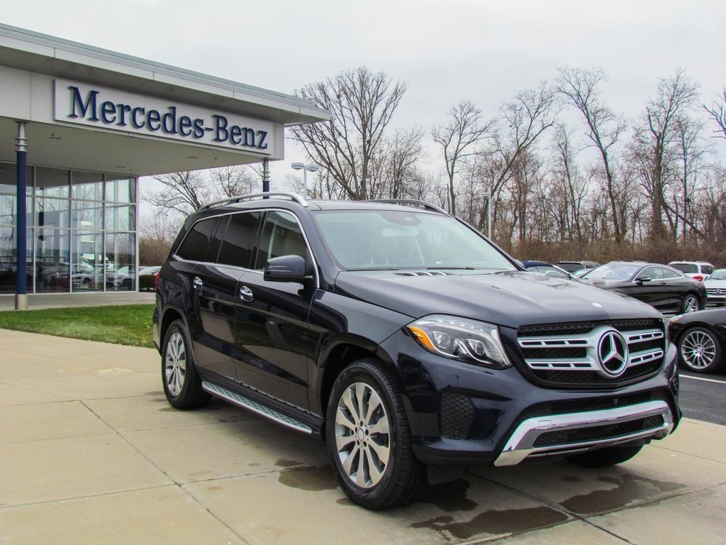 stock w16616 new 2017 mercedes benz gls gls450 4matic in west chester. Black Bedroom Furniture Sets. Home Design Ideas