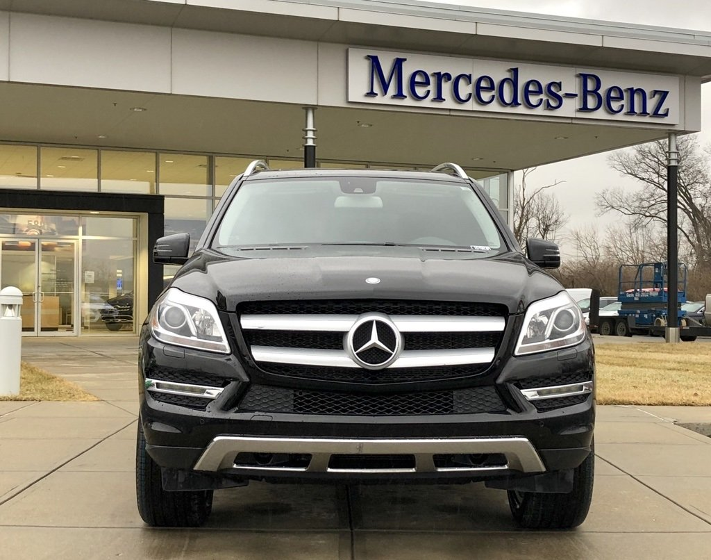 Stock w2983p certified pre owned 2014 mercedes benz gl for Certified mercedes benz