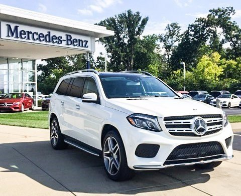 Stock wc16138 pre owned 2017 mercedes benz gls 550 for Pre owned mercedes benz suv