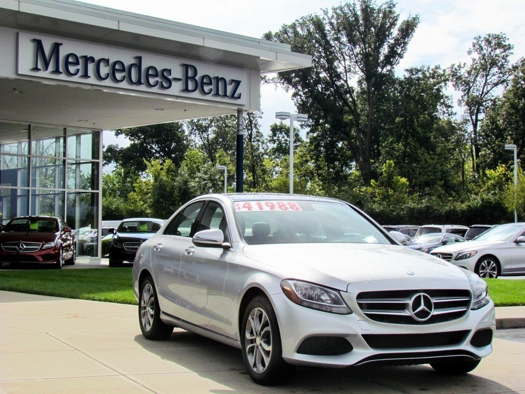 Stock w2325p certified pre owned 2016 mercedes benz c for 2016 mercedes benz c class c300 4matic