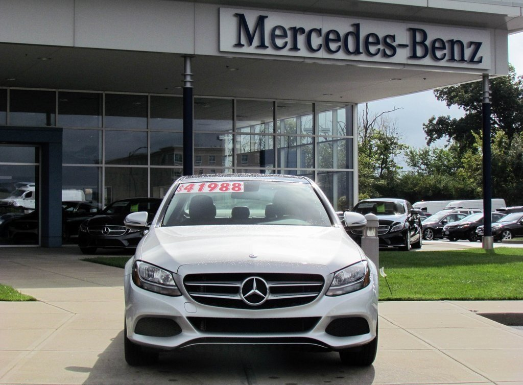 Stock W2325p Certified Pre Owned 2016 Mercedes Benz C
