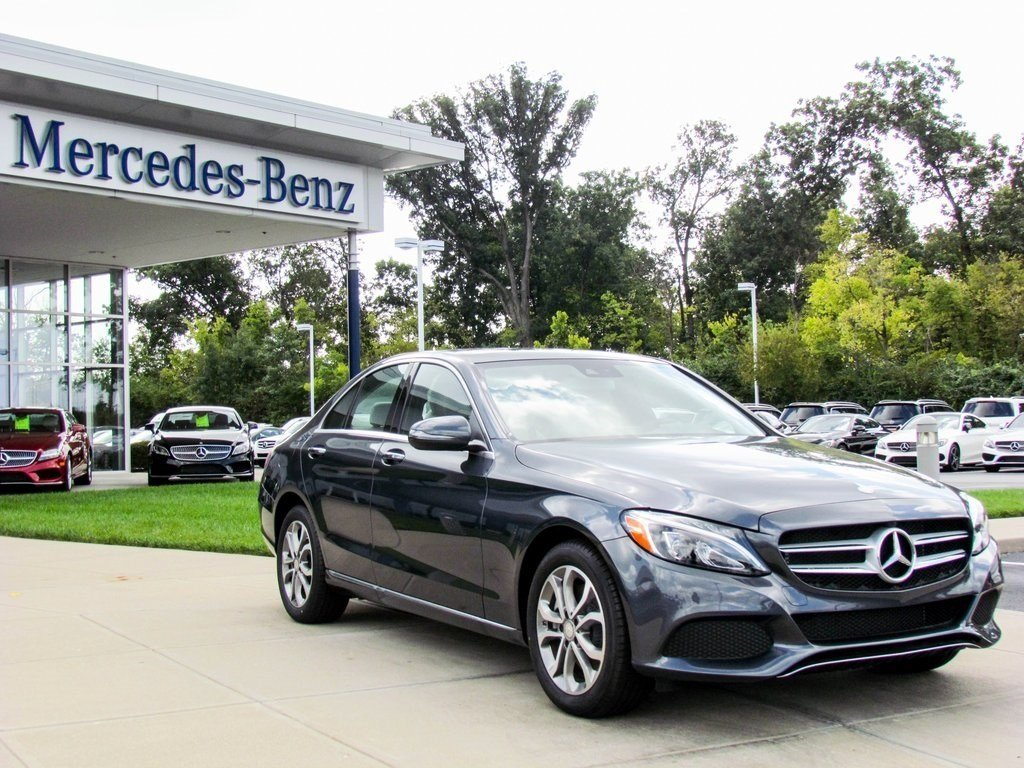 Stock wc16008 new 2016 mercedes benz c class c300 4matic for 2016 mercedes benz c class c300 4matic
