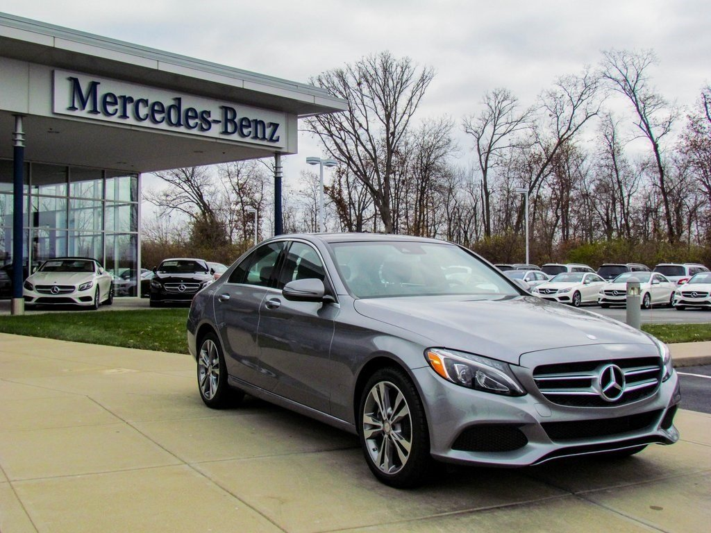 Stock wc16089 pre owned 2016 mercedes benz c class c 300 for Pre owned mercedes benz s class