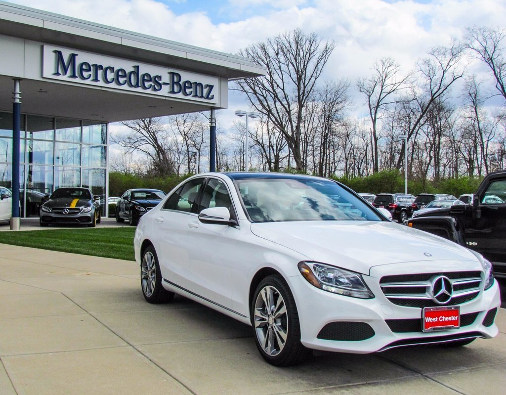 Stock w2893p certified pre owned 2015 mercedes benz c for Mercedes benz c class pre owned