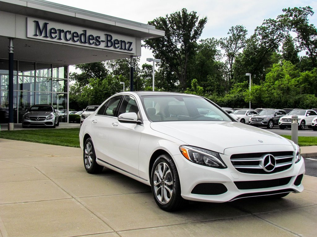 Stock l2644p new 2017 mercedes benz c class c 300 in for C class 300 mercedes benz