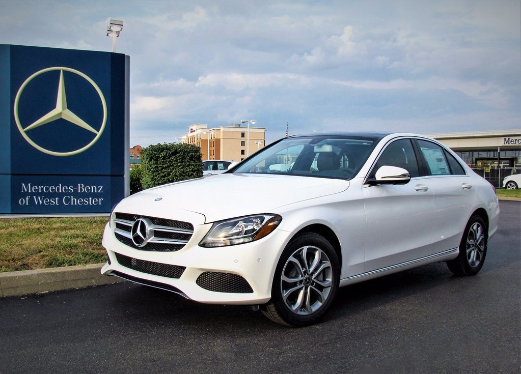 Stock w2785p certified pre owned 2015 mercedes benz c for Certified pre owned mercedes benz