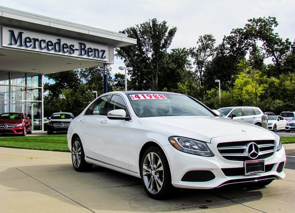 Stock w2310p certified pre owned 2016 mercedes benz c for 2016 mercedes benz c class c300 4matic