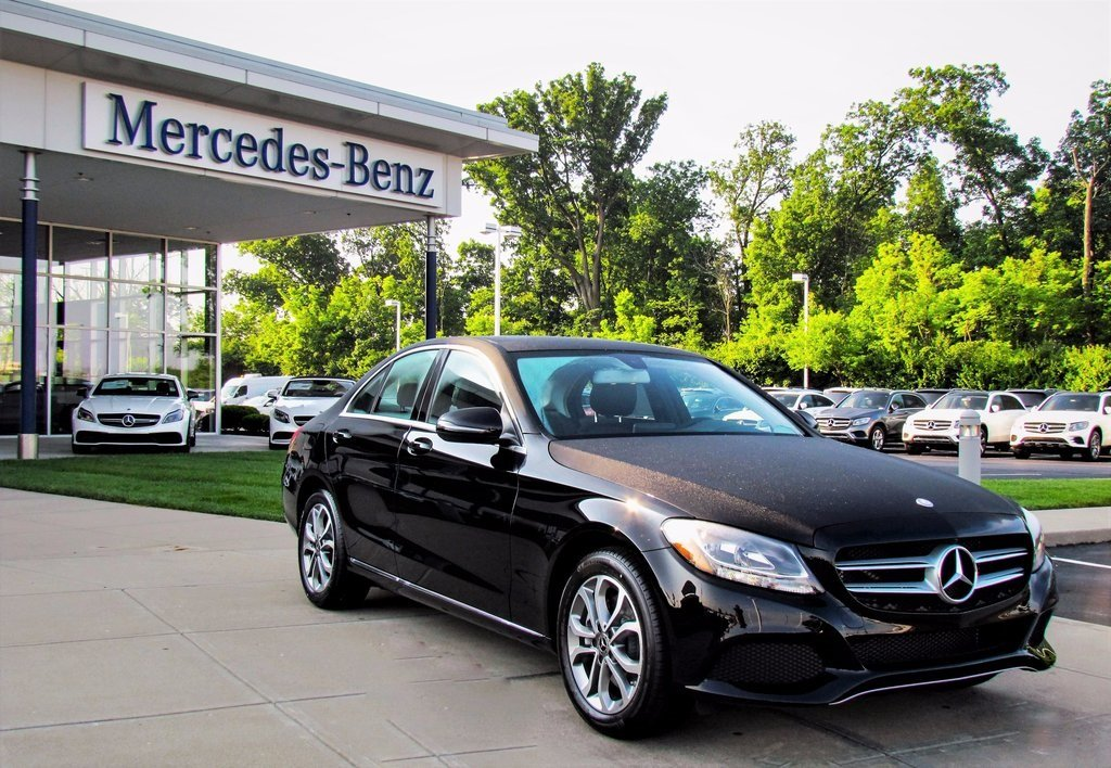 Stock w16872 new 2017 mercedes benz c class c 300 in for Mercedes benz westchester