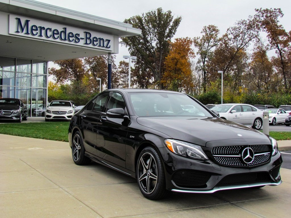 Stock w16506 new 2017 mercedes benz c class amg c43 for 2017 mercedes benz c class c43 amg
