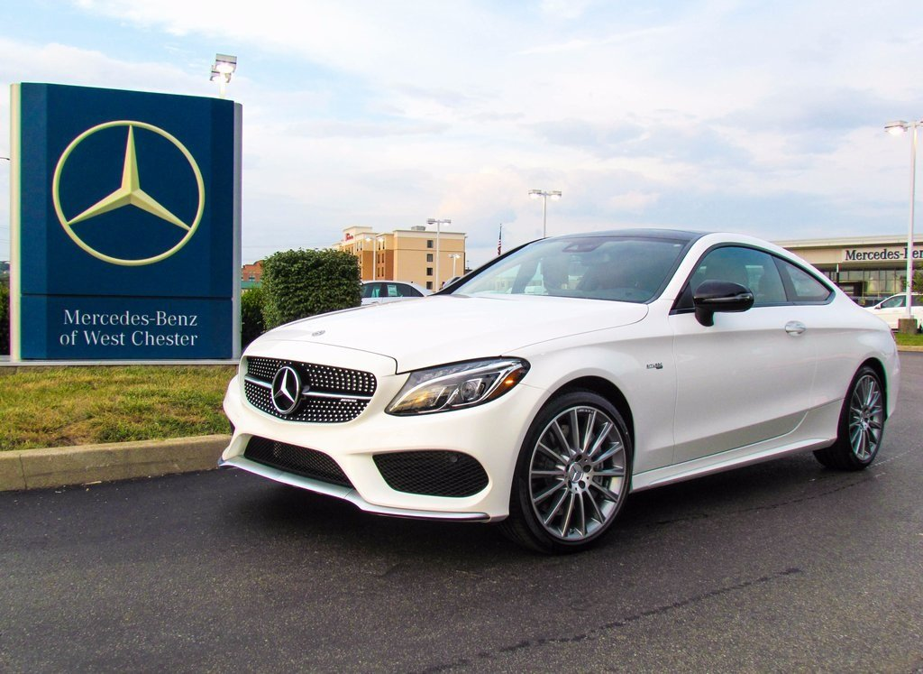 Stock w17001 new 2018 mercedes benz c class c 43 amg for Mercedes benz westchester