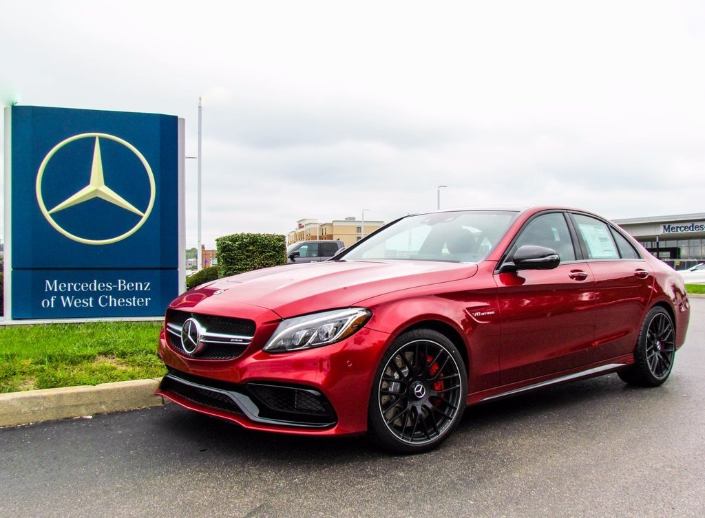 Stock W16995 New 2018 Mercedes Benz C Class Amg C 63 S