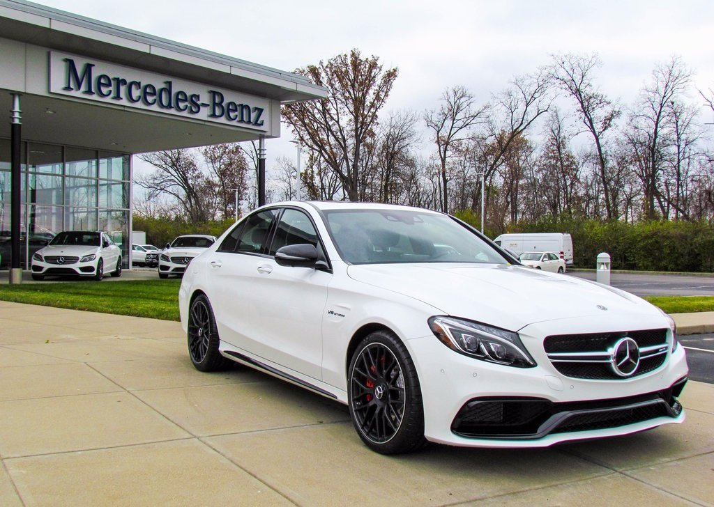 stock w17123 new 2018 mercedes benz c class c 63 s amg sedan in west chester. Black Bedroom Furniture Sets. Home Design Ideas