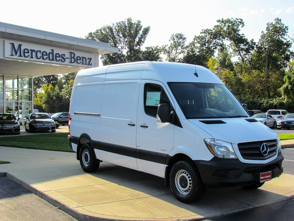 Stock v16100 new 2016 mercedes benz sprinter 2500 cargo for Mercedes benz sprinter cargo van