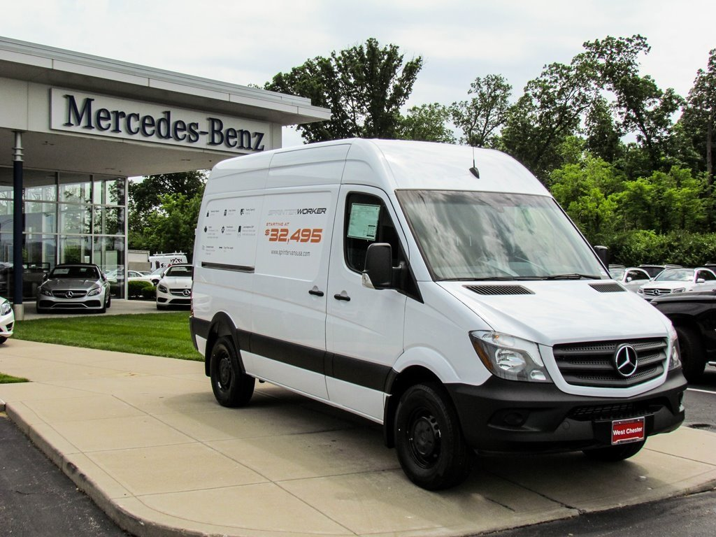 Stock v16191 new 2017 mercedes benz sprinter 2500 worker for Mercedes benz sprinter cargo van
