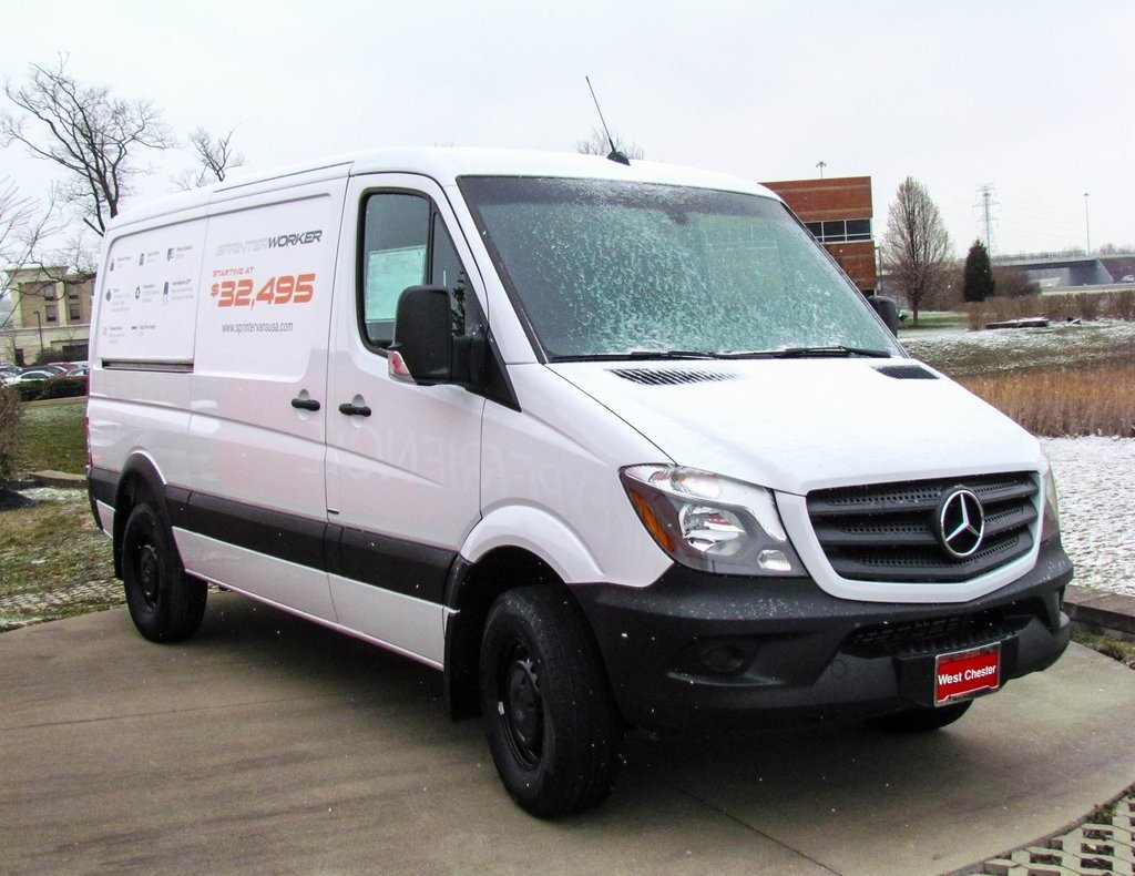 Stock v16174 new 2016 mercedes benz sprinter 2500 worker for Mercedes benz 2500 cargo van