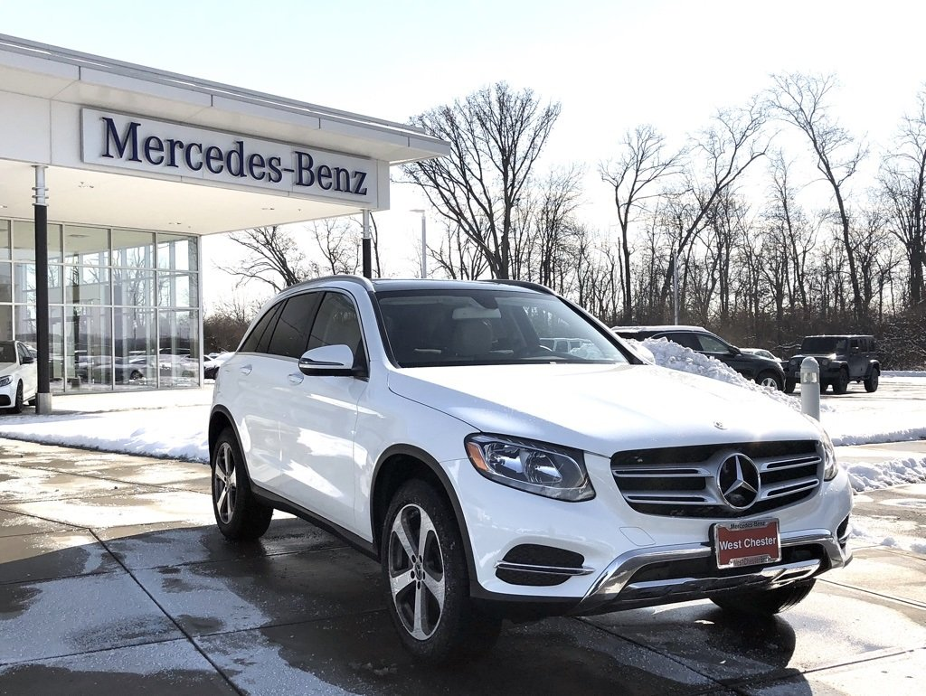 Stock l2971p pre owned 2018 mercedes benz glc glc 300 in for Mercedes benz westchester