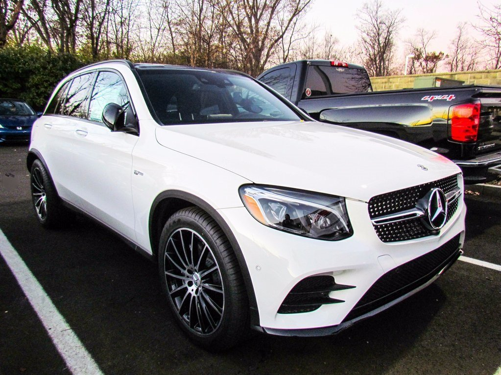 stock w17129 new 2018 mercedes benz glc amg glc 43 suv. Black Bedroom Furniture Sets. Home Design Ideas
