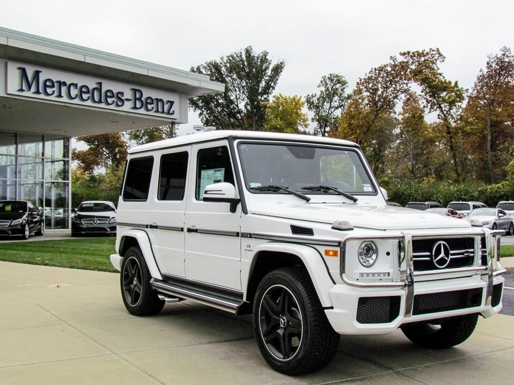 Stock w16499 new 2017 mercedes benz g class amg g63 for 2017 mercedes benz g class msrp