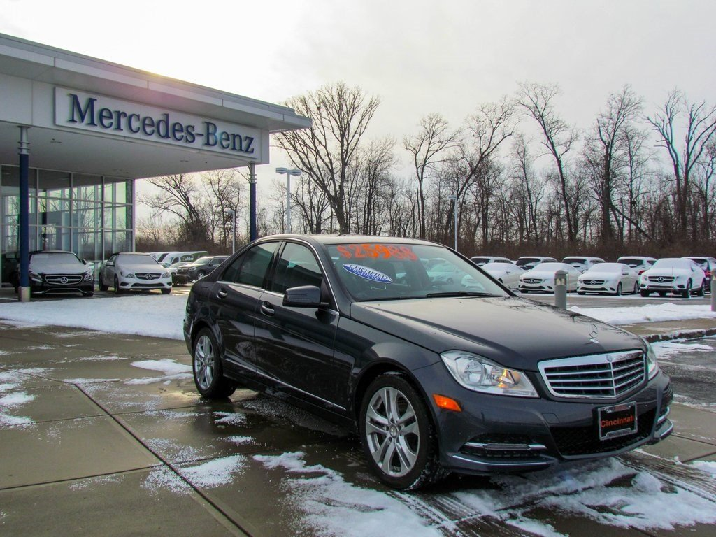 Stock x2412p certified pre owned 2014 mercedes benz c for Mercedes benz e350 luxury sedan 2014