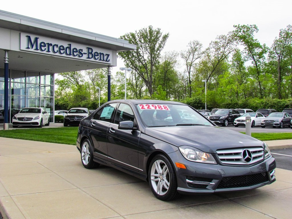 Stock w2588l certified pre owned 2013 mercedes benz c for 2013 mercedes benz c300 sport