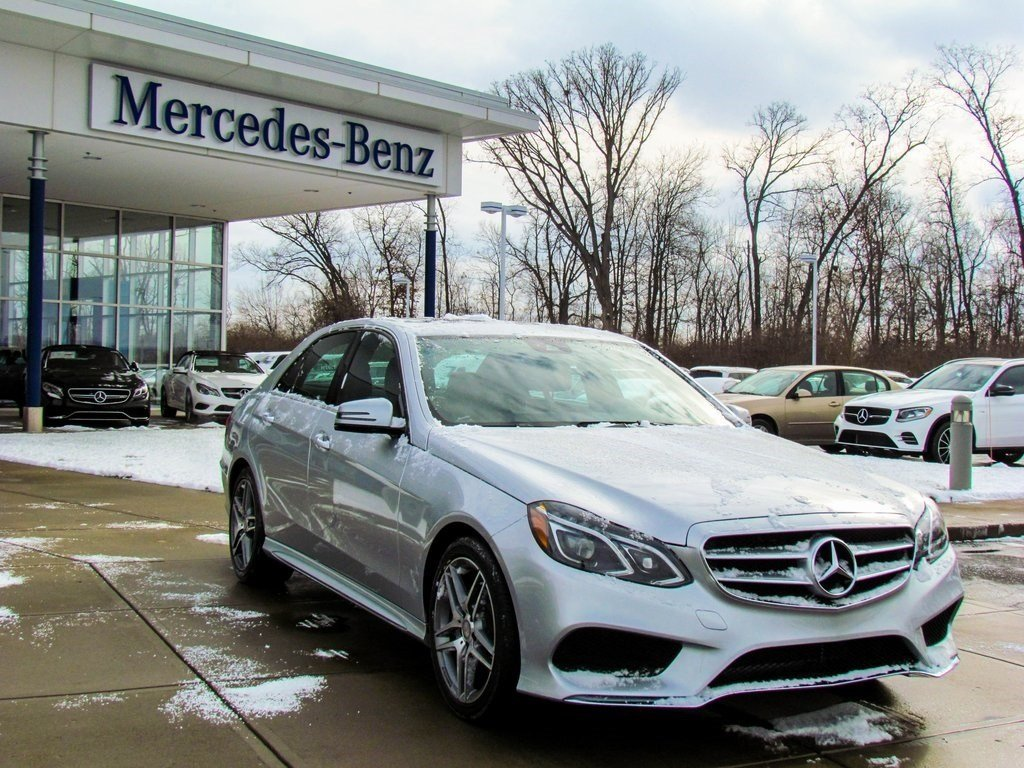 Stock w2428l certified pre owned 2014 mercedes benz e for Pre owned e class mercedes benz