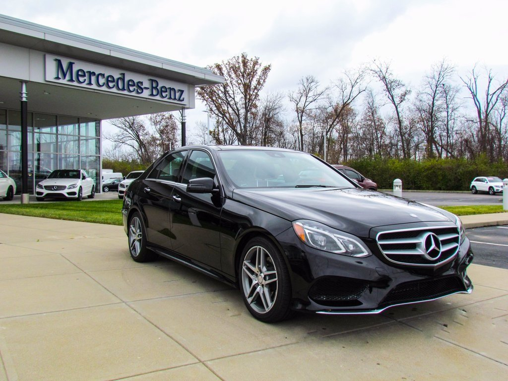 Certified Pre-Owned 2015 Mercedes-Benz E-Class E 350 4MATIC® Sedan
