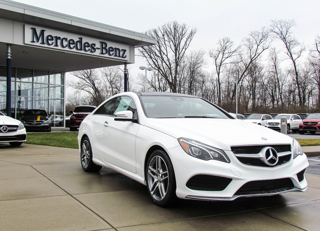 Stock w16712 new 2017 mercedes benz e class e 400 sport for Mercedes benz westchester