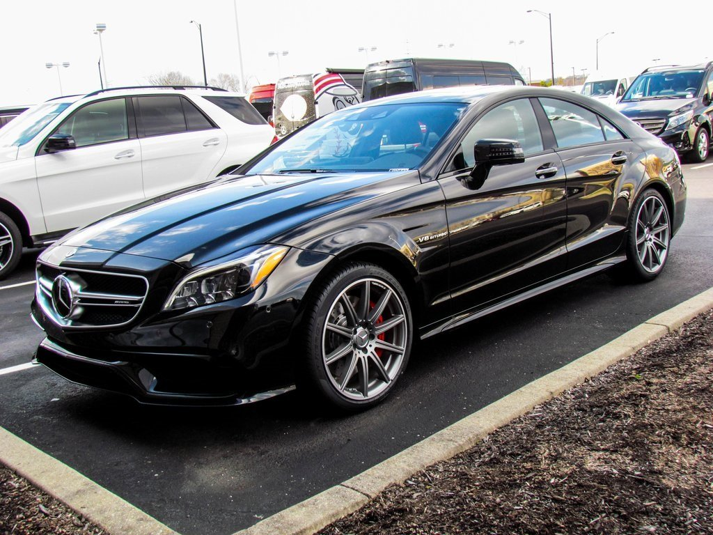 stock w16722 new 2017 mercedes benz cls cls 63s amg coupe in west chester. Black Bedroom Furniture Sets. Home Design Ideas