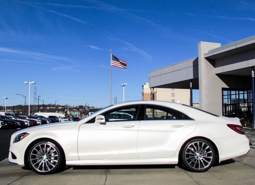 Stock w16601 new 2017 mercedes benz cls cls 550 in west for Mercedes benz cls 550