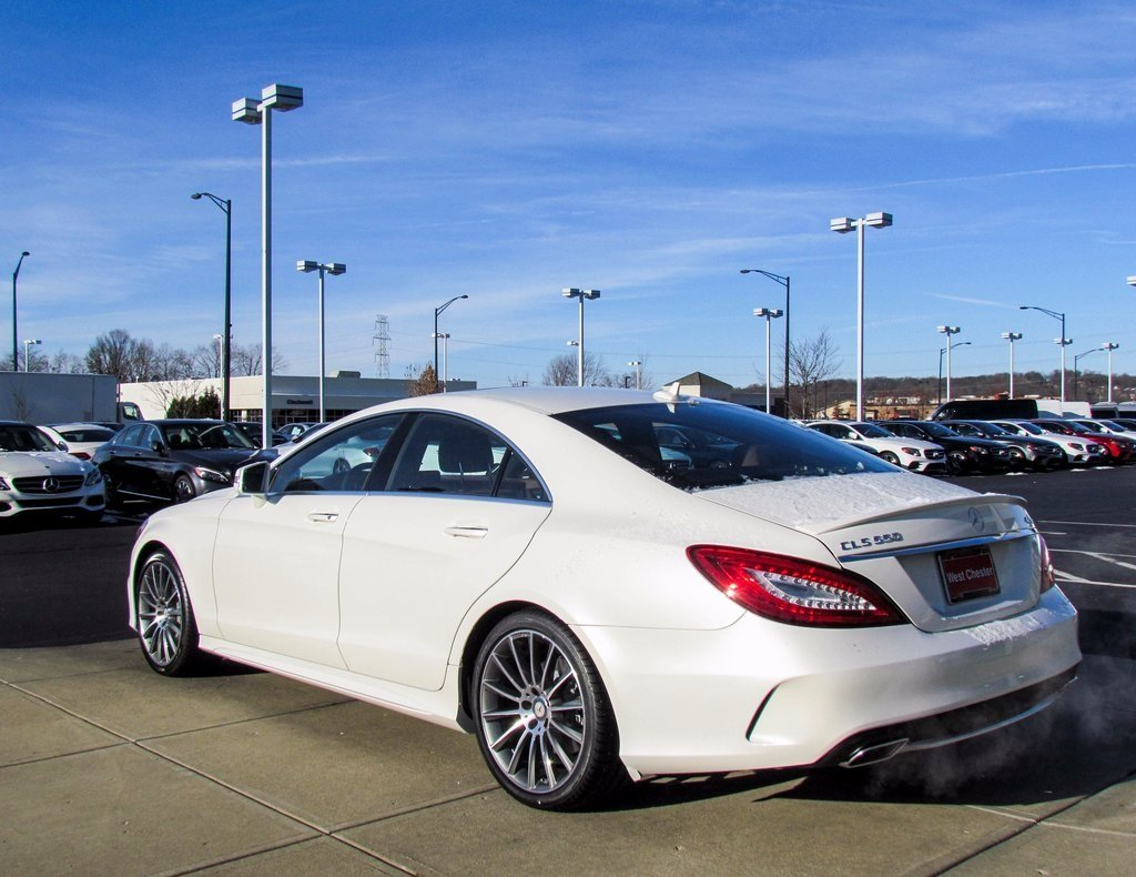 Stock w16601 new 2017 mercedes benz cls cls 550 in west for Mercedes benz 550 cls