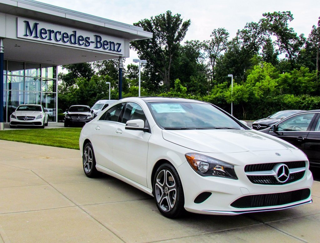 Stock w16846 new 2018 mercedes benz cla cla 250 in west for Mercedes benz financial payment address