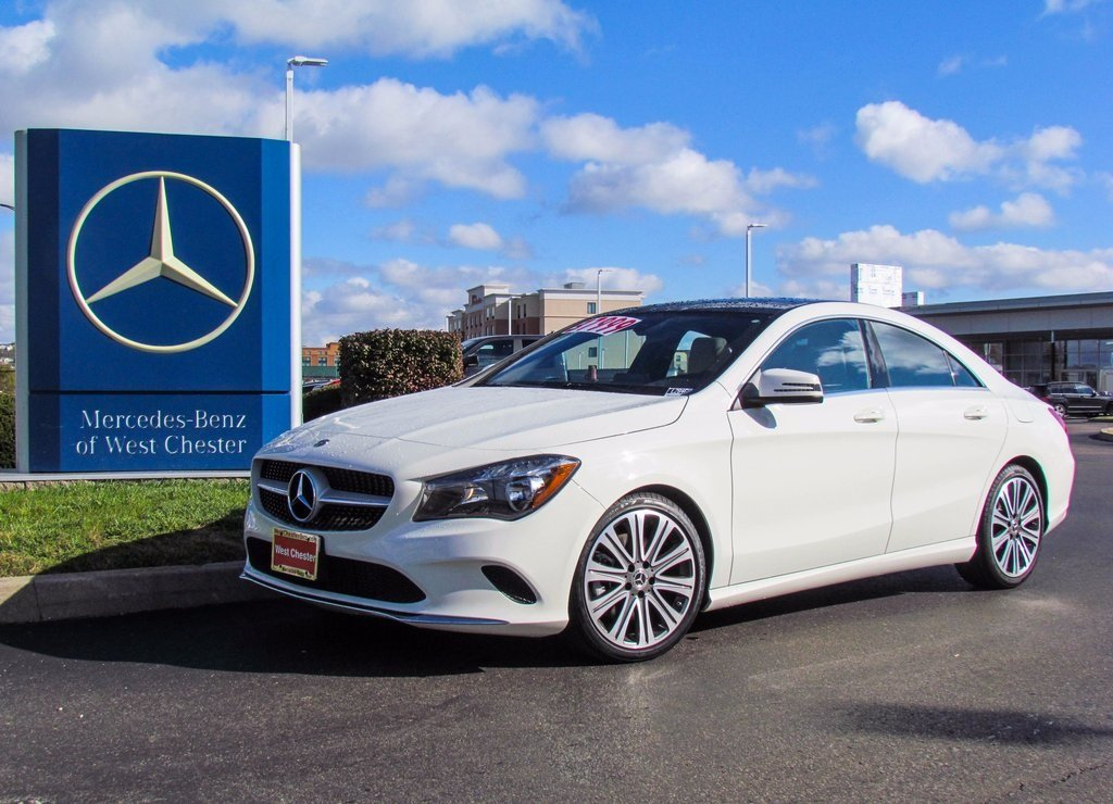Stock l2846p pre owned 2018 mercedes benz cla 250 4matic for 2018 mercedes benz cla 250 coupe
