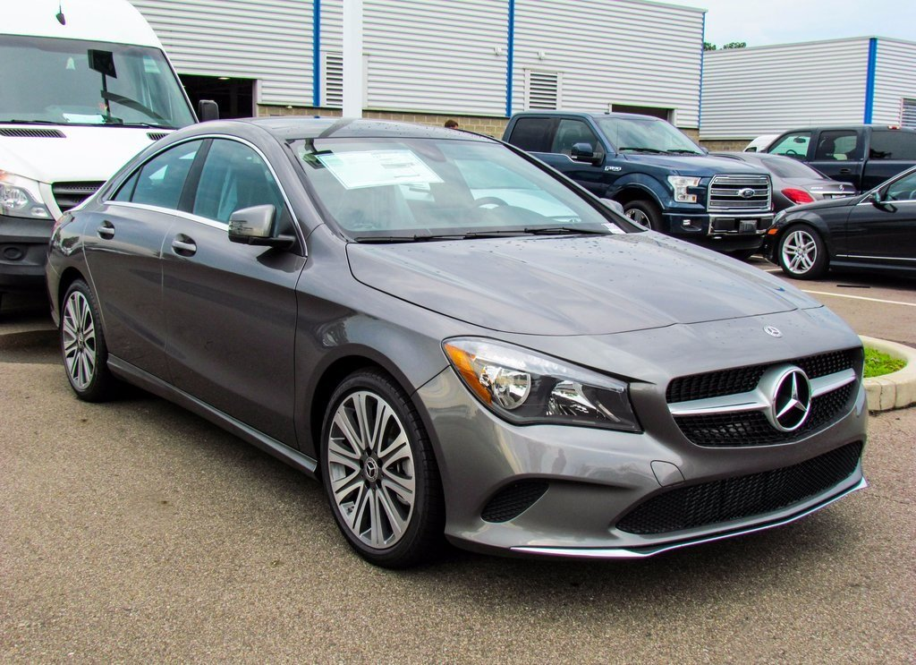 Stock w16896 new 2018 mercedes benz cla cla 250 in west for Mercedes benz cla 250 msrp