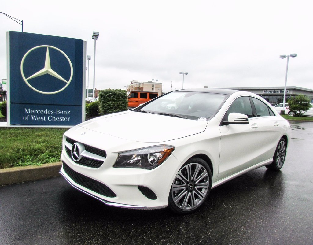 Stock w16905 new 2018 mercedes benz cla cla 250 in west for Mercedes benz westchester