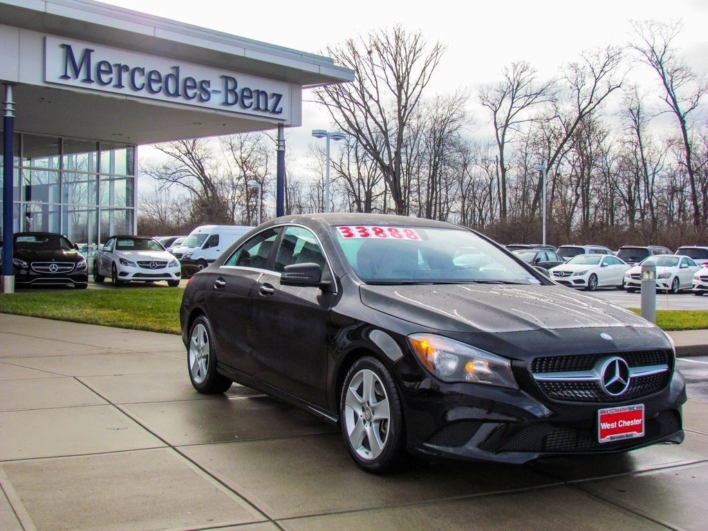 stock l2436p certified pre owned 2016 mercedes benz cla cla250 4matic 4 door coupe in west. Black Bedroom Furniture Sets. Home Design Ideas